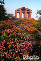 Photo : Temple gallo Romain au sommet du Donon, Grandfontaine, Bas-Rhin (67), Alsace, France