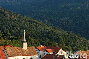Photo : Eglise protestante de Belmont, Bas-Rhin (67)