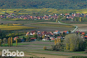 Photo : Villages de Bergbieten et Balbronn, Bas-Rhin (67)