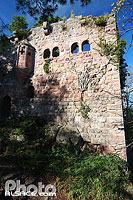 Photo : Château du Landsberg, Heiligenstein, Bas-Rhin (67), Alsace, France