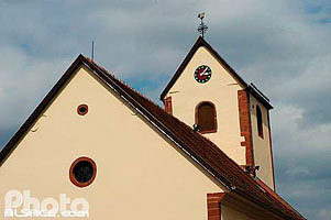 Photo : Eglise Protestante, Ringendorf, Bas-Rhin (67)