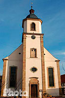 Photo : Eglise de Blaesheim, Bas-Rhin (67)