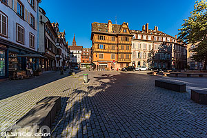 Photo : Place Saint-Etienne, Strasbourg, Bas-Rhin (67)