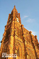 Photo : Cathedrale Notre Dame, Strasbourg, Bas-Rhin (67)