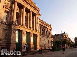 Photo : Bibliotheque nationale universitaire, Place de la Republique, Strasbourg, Bas-Rhin (67), Alsace, France