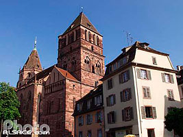 Photo : Eglise Saint-Thomas, Place Saint-Thomas, Strasbourg, Bas-Rhin (67)