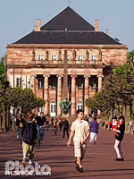 Photo : Opera, Place Broglie, Strasbourg, Bas-Rhin (67)
