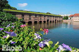 Photo : Le Barrage Vauban, Strasbourg, Bas-Rhin (67)