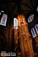 Photo : Pilier des Anges, Cathedrale Notre-Dame, Strasbourg, Bas-Rhin (67)