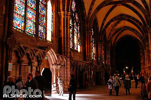 Nef, Cathedrale Notre-Dame, Strasbourg, Bas-Rhin (67)