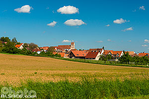 Photo : Willgottheim, Kochersberg, Bas-Rhin (67)