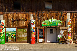 Photo : Vente direct du producteur Ferme service, Schnersheim, Kochersberg, Bas-Rhin (67), Alsace, France