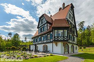 Villa Lalique, Wingen-sur-Moder, Bas-Rhin (67), Alsace, France