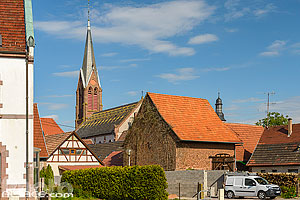 Photo : Eglise catholique Saint-Laurent, Woerth, Bas-Rhin (67)