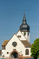 Photo : Eglise protestante de Sessenheim, Sessenheim, Bas-Rhin (67)