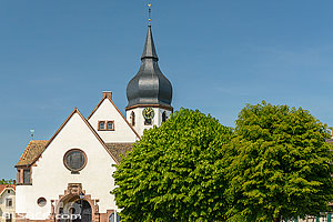 Photo : Eglise protestante de Sessenheim, Sessenheim, Bas-Rhin (67), Alsace, France