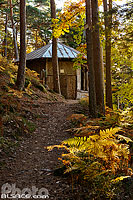 Photo : Kiosque Jadelot en automne, Barr, Bas-Rhin (67)