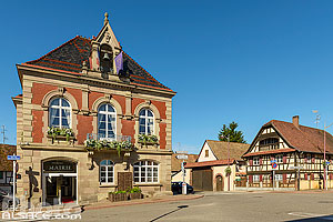 Photo : Mairie de Lampertheim, Bas-Rhin (67)