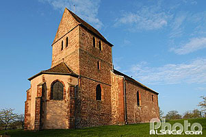 Photo : Chapelle Saint-Blaise, Marmoutier, Bas-Rhin (67), Alsace, France