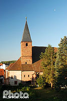 Photo : Eglise Saint-Jean, Wissembourg, Bas-Rhin (67), Alsace, France