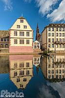 Musée historique de la ville de Strasbourg, Le Pfifferbriader et la Cathédrale de Strasbourg, Strasbourg, Bas-Rhin (67), Alsace, France