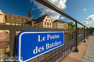 Le Ponton des Bateliers, Strasbourg, Bas-Rhin (67), Alsace, France