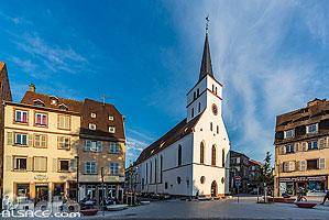 Photo : Eglise protestante Saint-Guillaume, Strasbourg, Bas-Rhin (67), Alsace, France