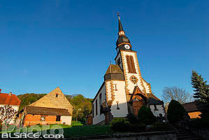 Photo : Temple de Thal-Drulingen, Alsace Bossue, Bas-Rhin (67), Alsace, France