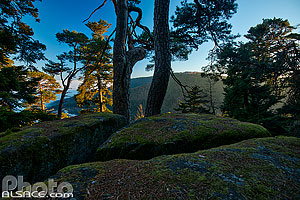 Photo : Point de vue le long du sentier des merveilles, Ottrott, Bas-Rhin (67)