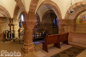 Photo : Chapelle Saint-Jean-Baptiste, Mont Sainte-Odile, Ottrott, Bas-Rhin (67)