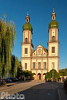 Eglise Saint-Maurice d'Ebersmunster (Abbatiale Saint-Maurice), Ebersmunster, Bas-Rhin (67), Alsace, France