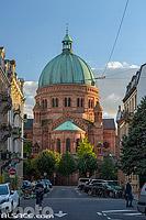 Eglise catholique Saint-Pierre le Jeune, Rue Paul Muller Simonis, Strasbourg, Bas-Rhin (67), Alsace, France
