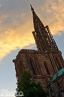La Cathédrale Notre-Dame de Strasbourg, Bas-Rhin (67), Alsace, France