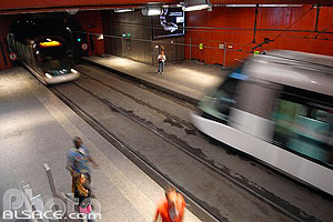 Photo : Station de tramway (Gare Centrale), Strasbourg, Bas-Rhin (67), Alsace, France