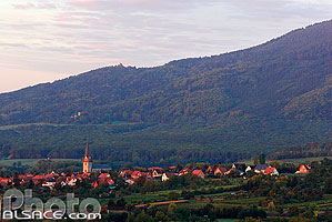 Photo : Village de Bernardswiller, Bas-Rhin (67)