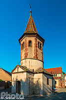 Photo : Chapelle Saint-Ulrich, Avolsheim, Bas-Rhin (67)
