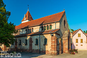 Photo : Eglise Saint-Materne, Avolsheim, Bas-Rhin (67)