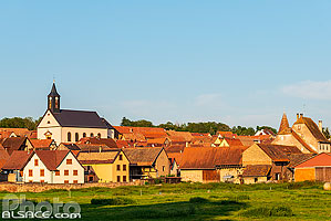 Photo : Village d'Ernolsheim-sur-Bruche, Bas-Rhin (67)