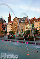 Photo : Fontaine de la place Kléber, Strasbourg, Bas-Rhin (67)
