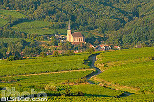 Photo : Chapelle Saint-Andre, Andlau, Bas-Rhin (67), Alsace, France
