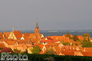 Photo : Village de Mittelbergheim, Bas-Rhin (67), Alsace, France