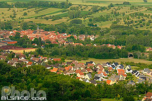 Photo : Lotissement et village de Otterswiller, Bas-Rhin (67)