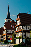 Photo : Rue des Eglises, Seebach, Bas-Rhin (67)