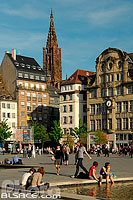 Photo : Place Kléber, Strasbourg, Bas-Rhin (67)