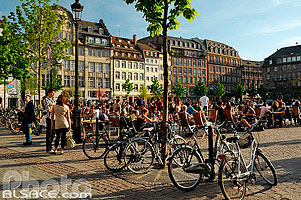 Photo : Place Kléber, Strasbourg, Bas-Rhin (67), Alsace, France