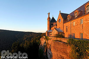 Photo : Mont Sainte-Odile, Ottrott, Bas-Rhin (67)
