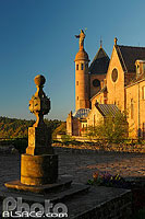 Photo : Cadran Solaire, Mont Sainte-Odile, Ottrott, Bas-Rhin (67), Alsace, France