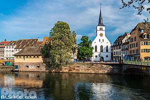 Photo : Eglise Saint-Guillaume, Strasbourg, Bas-Rhin (67)