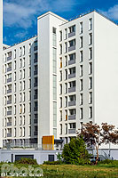 Photo : Immeuble de logements collectifs, Rue Albert Calmette, Schiltigheim, Bas-Rhin (67)
