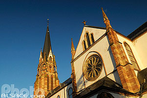 Photo : Eglise Saint-Maurice, Mutzig, Bas-Rhin (67)